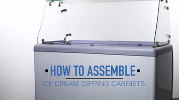How to Assemble an Avantco Ice Cream Dipping Cabinet