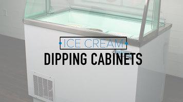 Avantco Ice Cream Dipping Cabinets