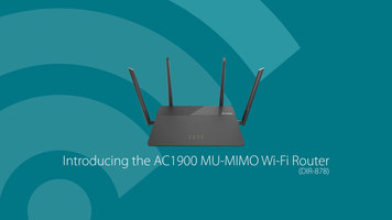 D-Link AC1900 Wifi Router