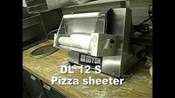 Doyon DL12S Countertop Dough Roller Sheeter