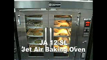 Doyon JA12SL Jet Air Double Deck Convection Oven