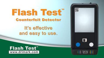 Dri Mark FlashTest Counterfeit Bill Detector