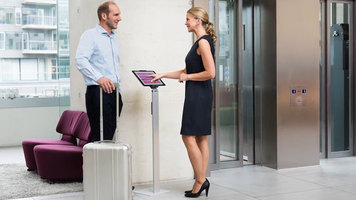 Durable Tablet Holder: Floor