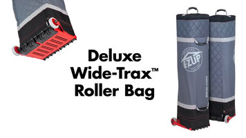 E-Z UP: Deluxe Wide-Trax Roller Bag
