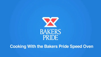 Bakers Pride e300 Speed Oven: Cooking