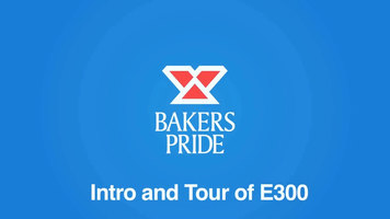 Bakers Pride e300 Speed Oven: Introduction