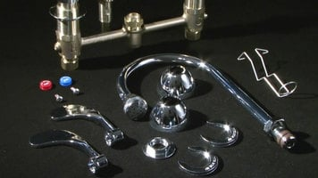 T&S EasyInstall Concealed Widespread Faucets