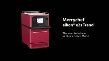 Merrychef eikon e2s Trend User Interface