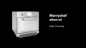 Merrychef eikon e4 Daily Cleaning