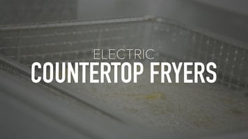 Electric Countertop Fryers