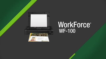 Epson WorkForce WF100 Printer