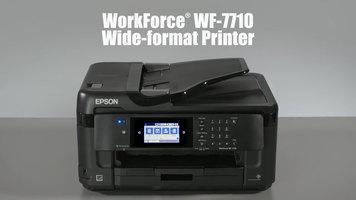 Epson WorkForce WF-7710 Wide Format Printer