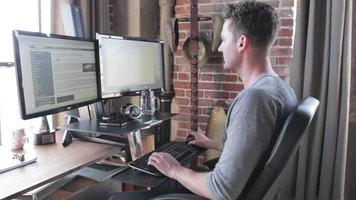 Ergotron WorkFit-S Standing Desk