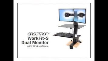 Ergotron WorkFit-S Standing Desk: How to Adjust