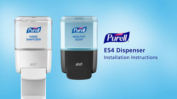 Purell: ES4 Push Style Dispenser Installation Instructions