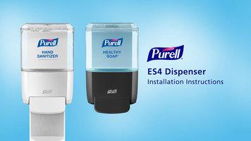 Purell: ES4 Push Style Dispenser Installation Instructions