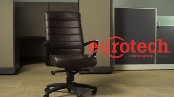 Eurotech High-Back and Mid-Back Chairs