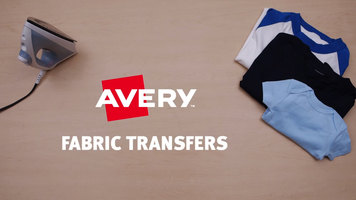 Avery Fabric Transfers