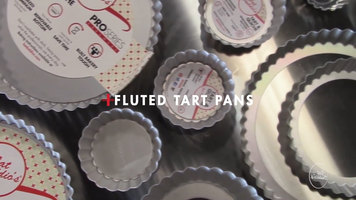 Fat Daddio's ProSeries Fluted Tart Pans