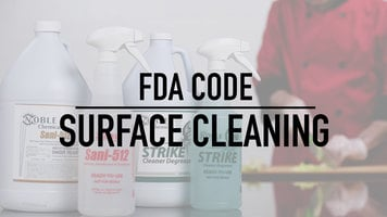 FDA Code Surface Cleaning