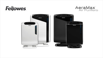 Fellowes AeraMax Air Purifiers: 190 200 DX55 Filter Change