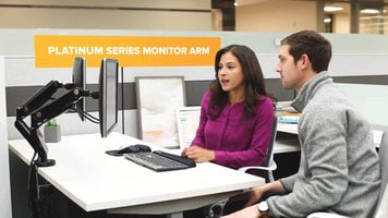 Fellowes Platinum Series Monitor Arms