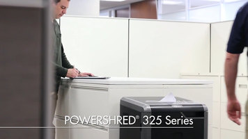 Selecting the Best Commercial Shredders - Powershred® 325 Series