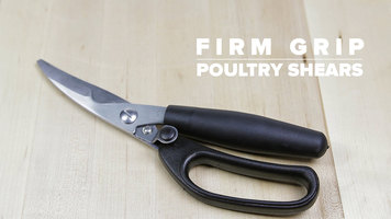 Firm Grip Poultry Shears