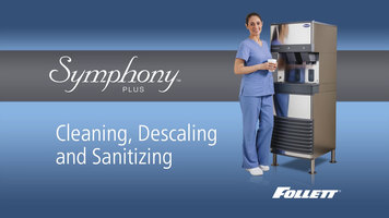 Follett Symphony Plus Cleaning Instructions