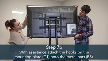 Luxor Assembly Guide: FP2500 TV Stand