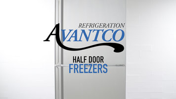 Avantco Stainless Steel Half Door Freezers