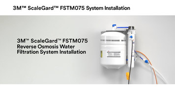 3M™ ScaleGard™ FSTM075 Reverse Osmosis Water Filtration System Installation