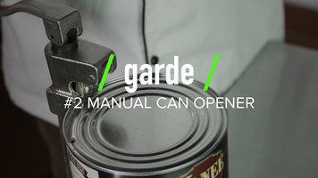 Garde #2 Manual Can Opener