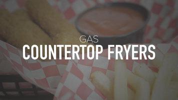 Gas Countertop Fryers