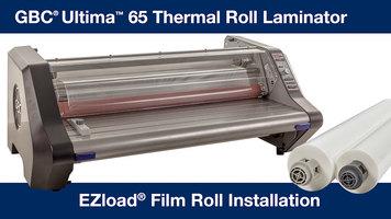 GBC Ultima 65 Laminator EZ Roll Film Installation