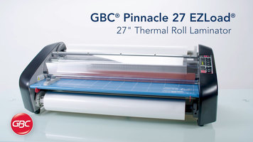GBC Pinnacle 27 EZLoad Laminator