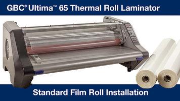 GBC Ultima 65 Laminator Standard Roll Film Installation
