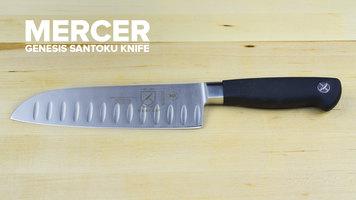 """Mercer Genesis 7"""" Santoku Knife"""