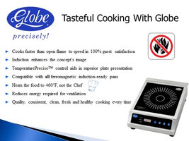 Globe GIR18 Ceramic Countertop Induction Range