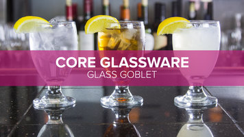 Core Glass Goblet