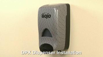 GOJO® DPX Soap Dispenser: Installation and Refill