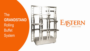 Eastern Grandstand Rolling Buffet System