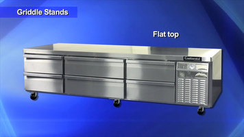 Continental Refrigeration Griddle Stands