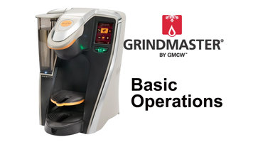Grindmaster RealCup RC400 Coffee Brewer: Basic Operation
