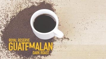 Crown Beverages Royal Reserve Guatemalan Dark Roast Coffee