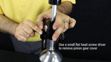 Hamilton Beach 932 Manual Juicer: Replacing the Pinion Shaft and Gear Rack