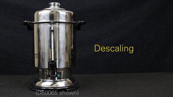 Hamilton Beach Coffee Urns: Descaling