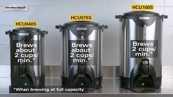 Hamilton Beach Stainless Steel Coffee Urns