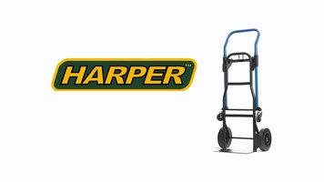 Harper JDCJ8523 3-in-1 500lb Quick Change Hand Truck