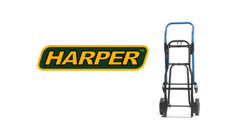 Harper JDCJ8523N 3-in-1 Quick Change Hand Truck with Nose Extension